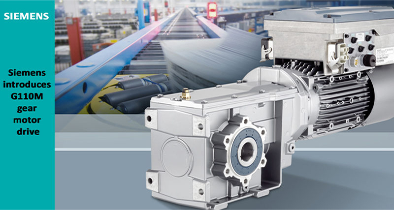 Siemens Introduces G110m Gear Motor Drive Automation