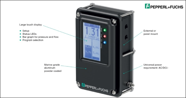 Pepperl+Fuchs –  Bebco EPS purge and pressurization system