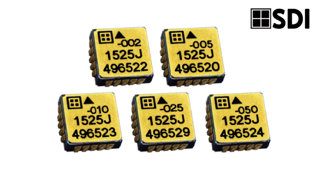Silicon Designs releases Model 1525 series of commercial and inertial-grade MEMS capacitive accelerometers