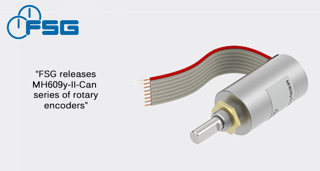 FSG releases MH609y-II-Can series of rotary encoders